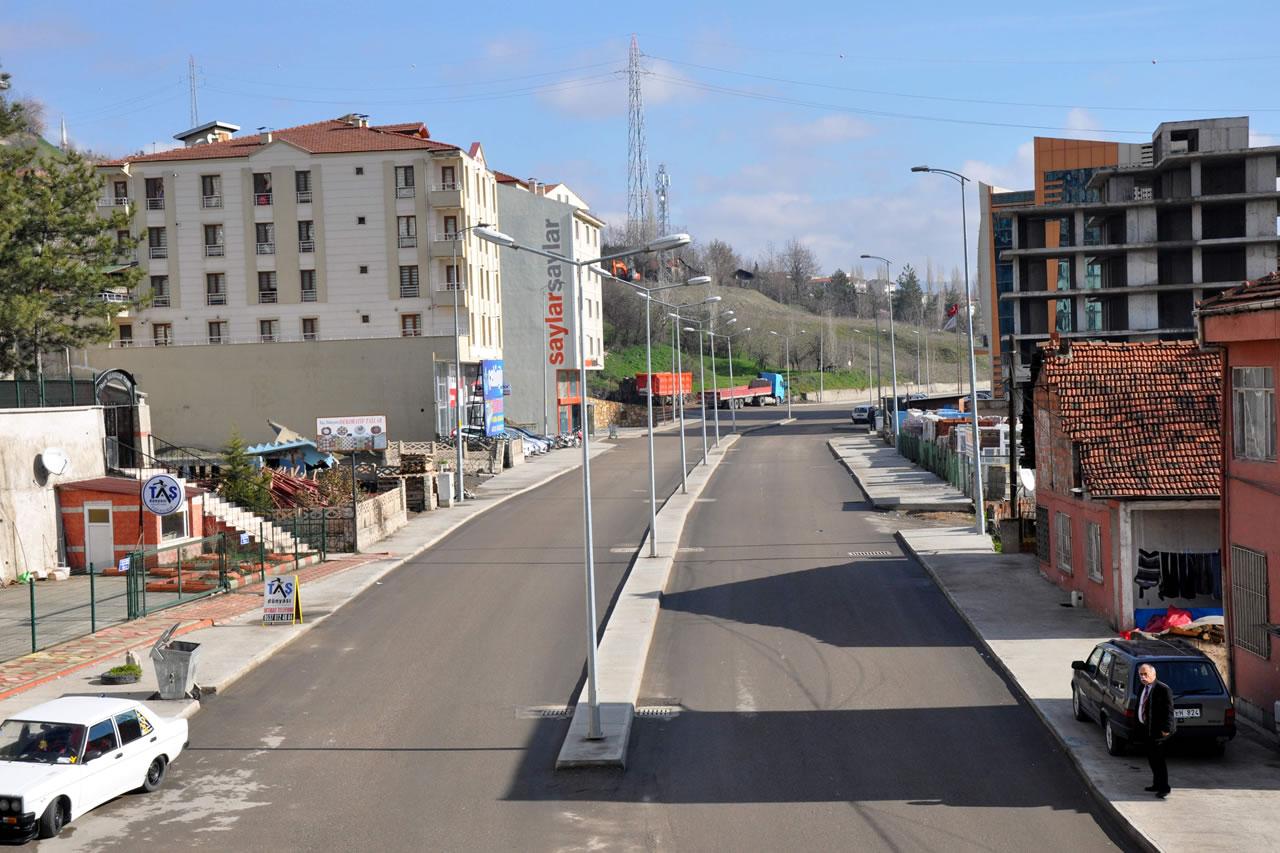 Yeşil Mahalle Yolu (Atatürk Bulvarı)