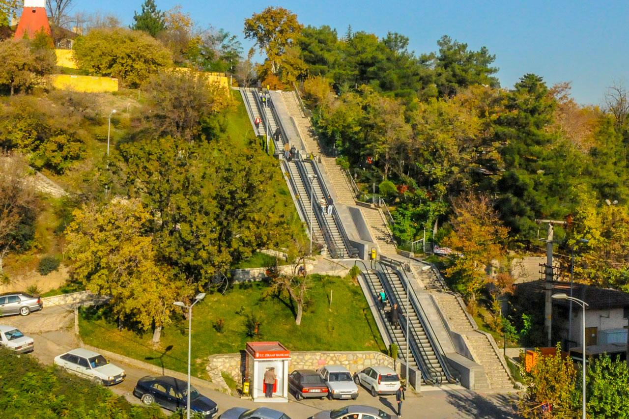 Yürüyen Merdivenler Projesi (Yenişehir Mahallesi)