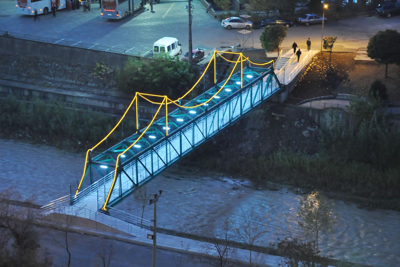 Öğlebeli Mh. - Eregenekon Mh. Arası Yaya Üst Geçit Köprü Projesi